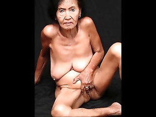Asian Granny Droopers