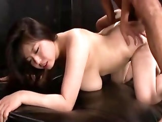cute big tits japanese bbw assfucked in a threessome