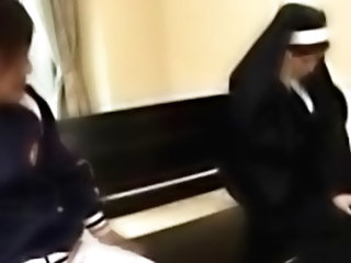Nun Getting Her Tits And Pussy R...
