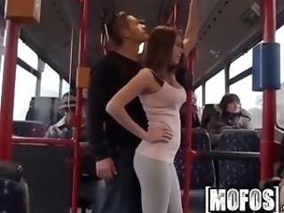 Bonnie Shai gets pounded on the bus