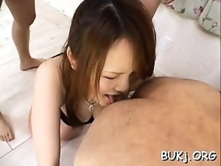 Vigorous Hirari Hanakawa gets nailed nicely