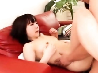 Voluptuous japanese lady Arisa bonked to orgasmic point