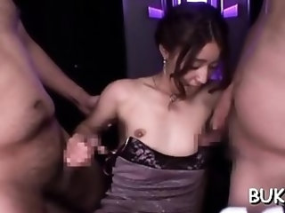 Naked gal screams with stud fucking her like a bull
