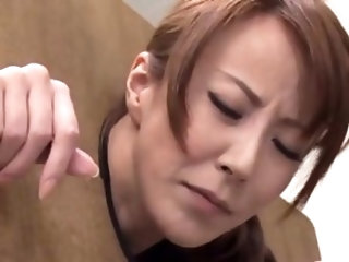 Beguiling eastern honey Reiko Sawamura fucked in all poses