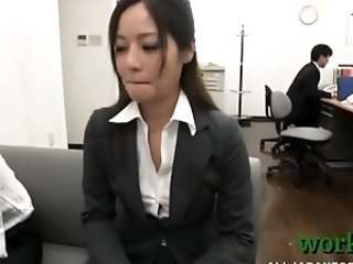 In nature's garb asian babe likes touching her pussy and ass