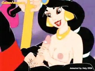 Princess Jasmine fucked by bad wizard