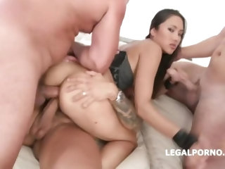 LegalPorno Trailer - BlackEnded with May Thai 4 white then 4 black