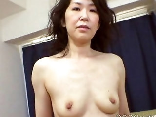 Japanese Amateur Mature Gets A Stiff One (Uncensored)