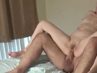 Chinese milf licking my ass and dick before anal fucking
