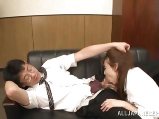 She entered her bosses office with obedience, wishing for his attention and got it, only that she received another kind of attention from him. He grab