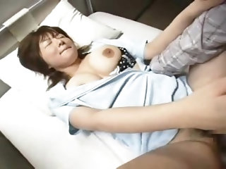 Japanese nurse fucked in hospital by patient