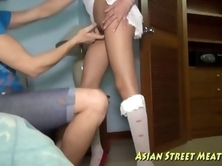 Instrumental Asian Ass Fuck