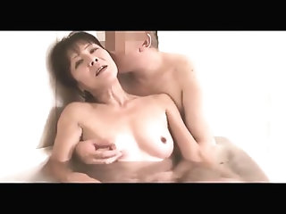 49yr old Granny Izumi Inaba Squirts and Creamed (Uncensored)