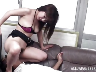 Like all other horny Japanese sluts, this one is also a shy whore waiting to scream out for a cock inside! Watch her innocent face as she is getting h