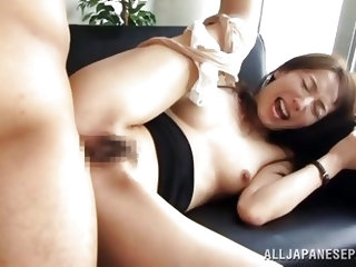 Are you an anal addict? Wanna see exciting anal sex scenes? This is the perfect place to enjoy watching a sexy slim Asian girl sucking a big cock. Aft