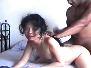 Asian wife cuckolding hubby