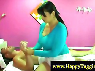 Chubby Asian Masseuse