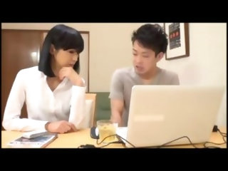 AMWF Jessica Lynn interracial with Amateur Asian guy