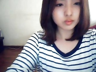 korean girl on web cam